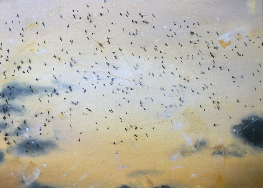 Murmuration gold - sold