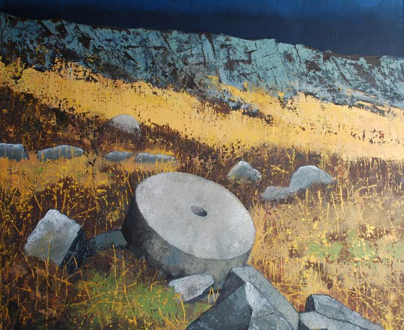 Rocks at Stanage - Sold
