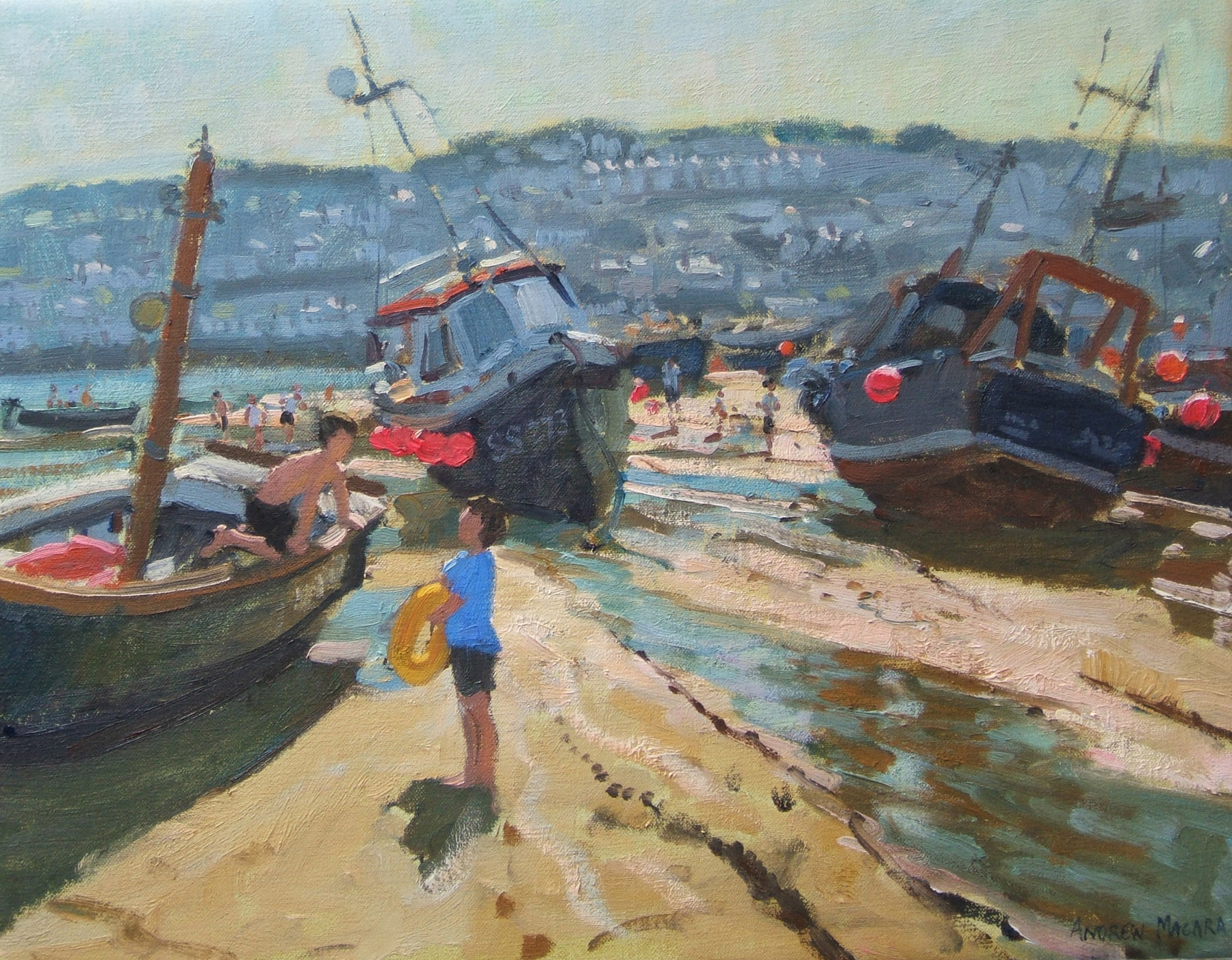 Andrew Macara, St Ives, Boats