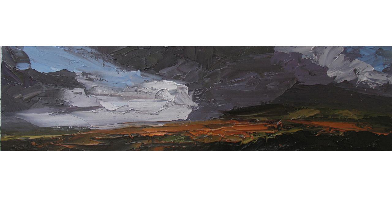Gathering Storm 30 x 150cm £1800