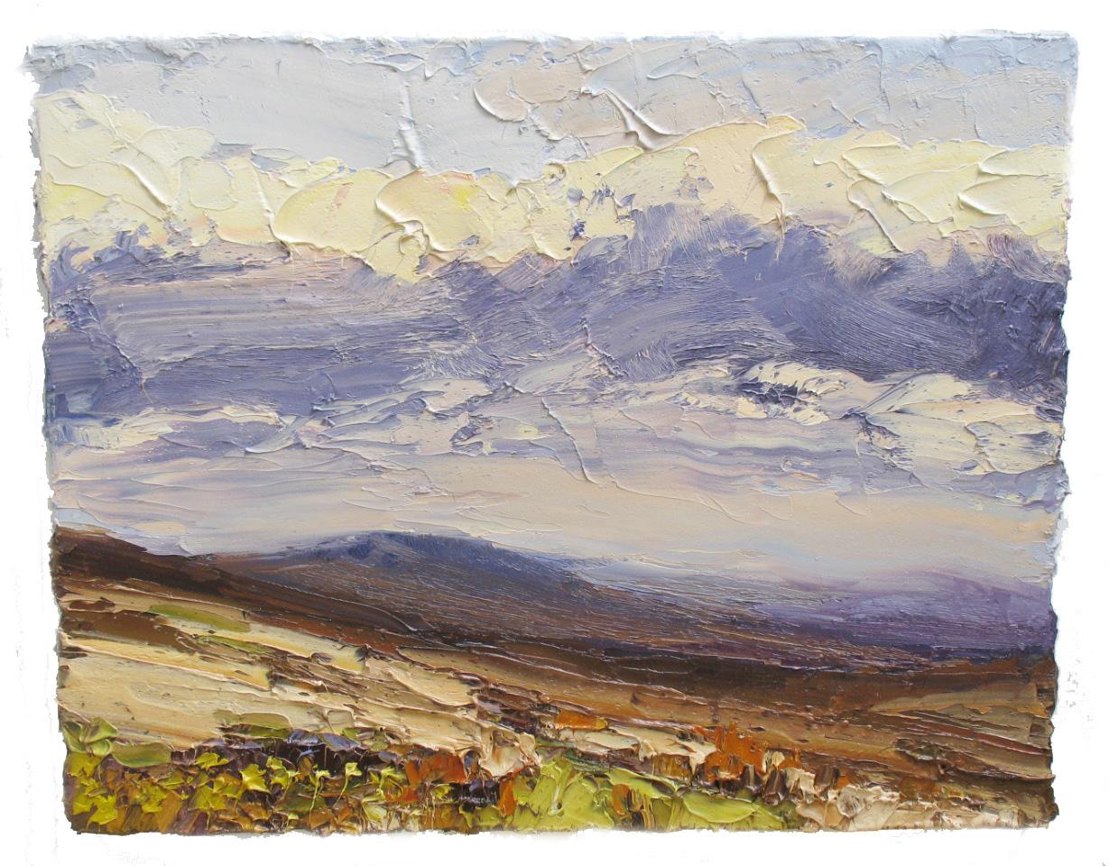 Colin Halliday, Winter Moorland
