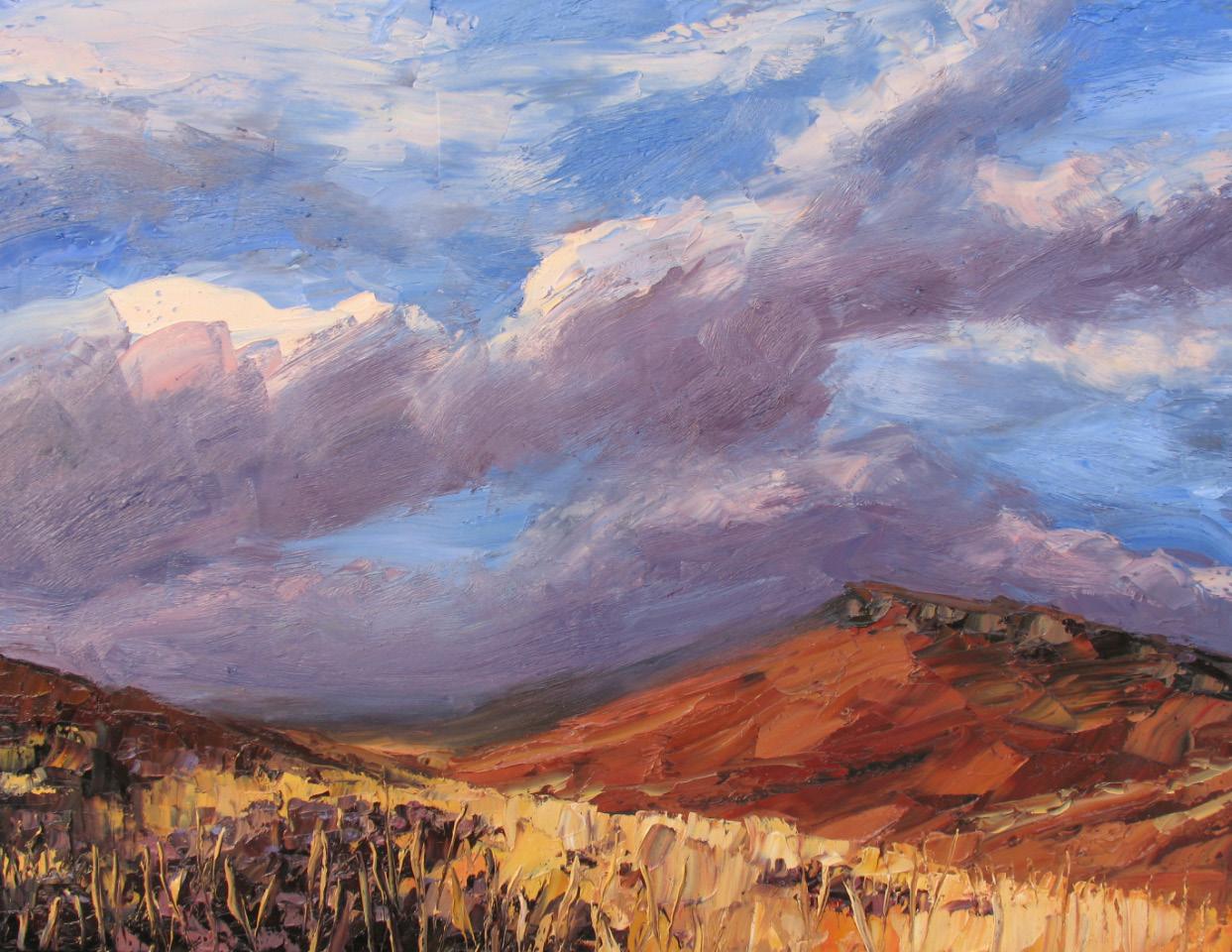 Colin Halliday, Winter Moor