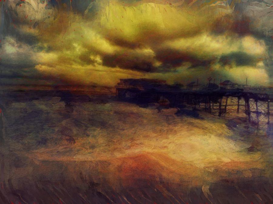Cromer Pier - Summer Storm,