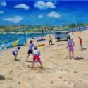 Andrew Macara, Beach Cricket, Abersoch