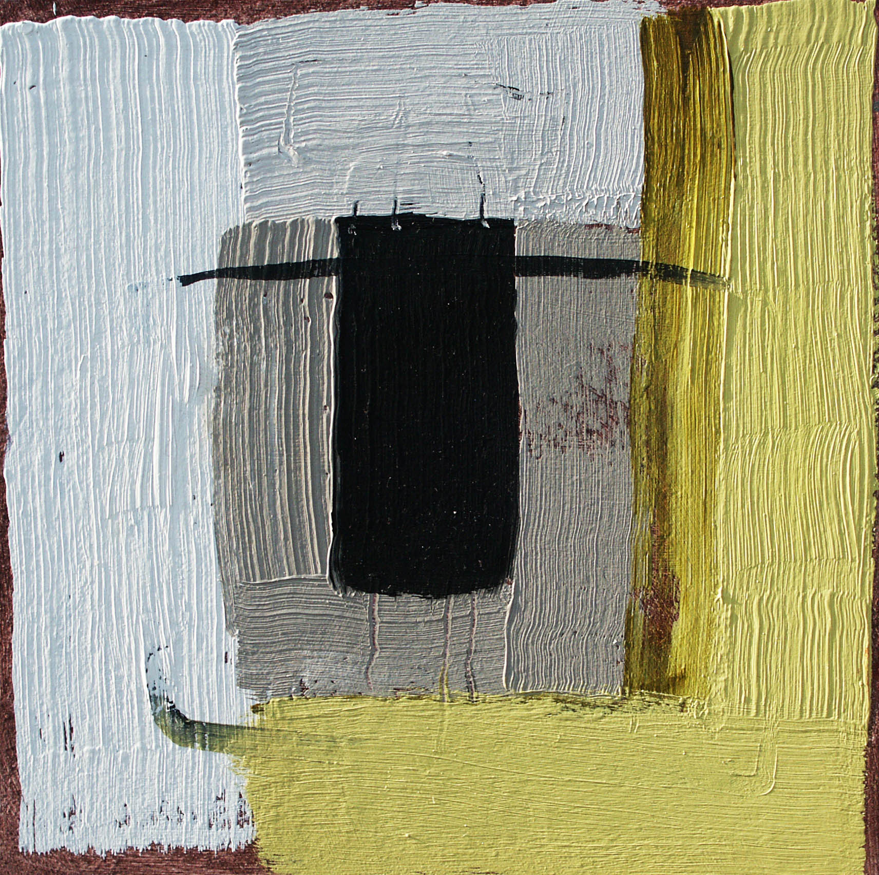Catherine Headley, Portal, Oil on panel, 20 x 20 cm, Framed, £430