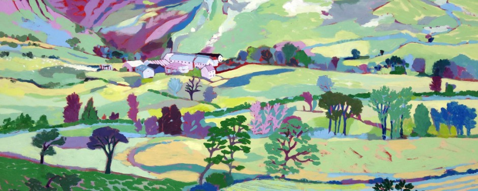 Light, Shade and Colour, Landscape Paintings by Deb Allitt