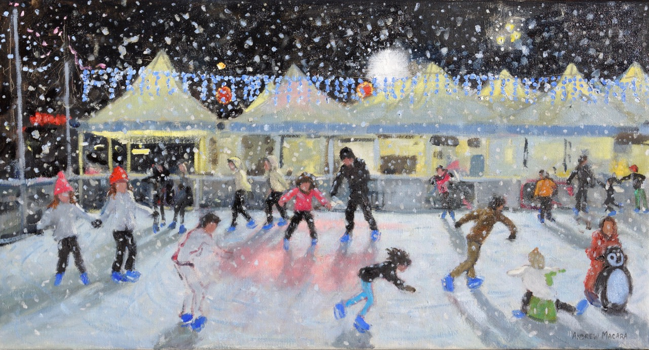Andrew Macara, Heavy snow, Derby Ice Rink