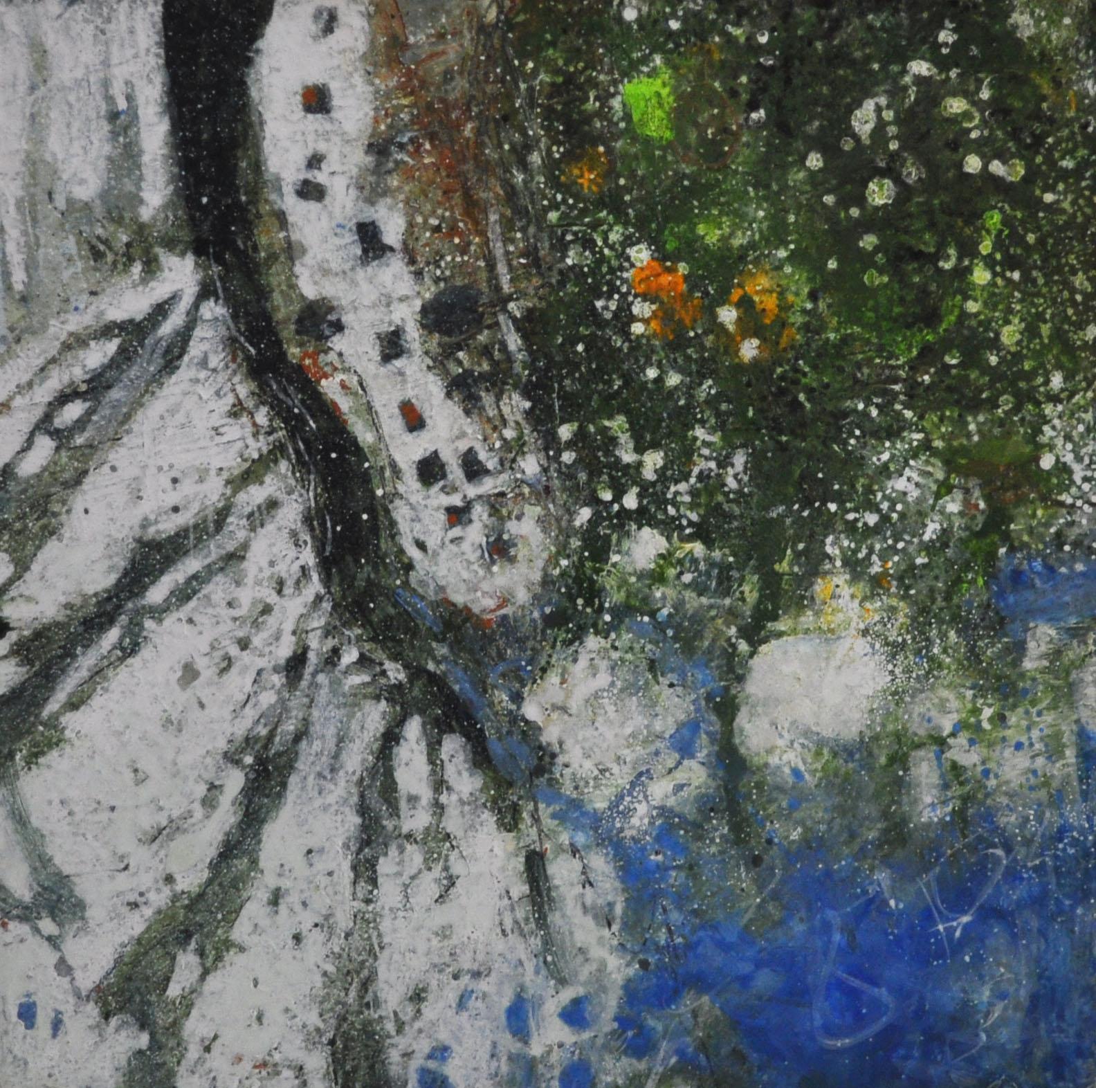 Lewis Noble, Tree Shadows on Limestone Pathway