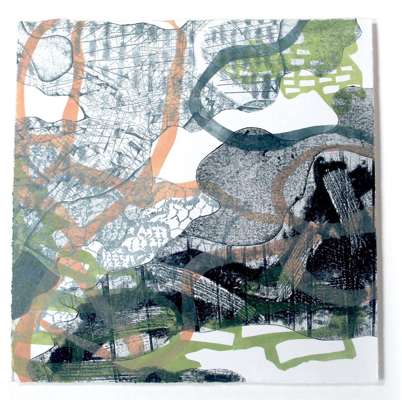 Shirley Stevenson, Light and Dark Square 1