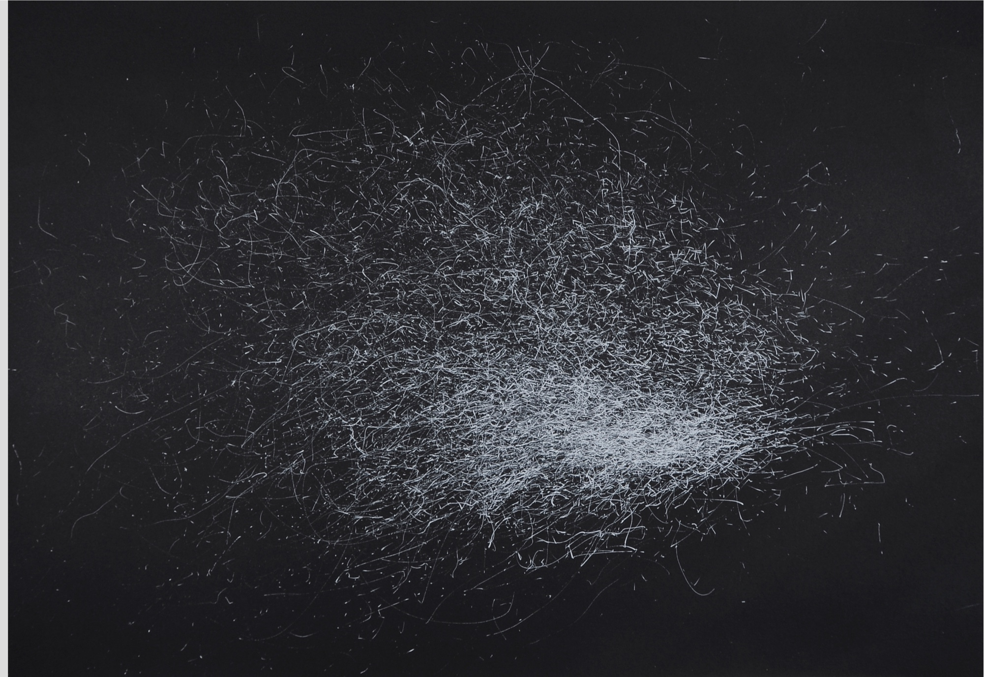 Julie Leach, Wind Dance (Storm Ophelia through the Pampas 45 mph south south westerly 455 minutes)