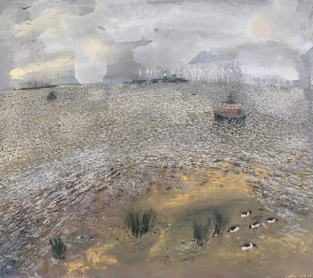 Stephen Todd, Forts, Oyster Catchers and Redshanks