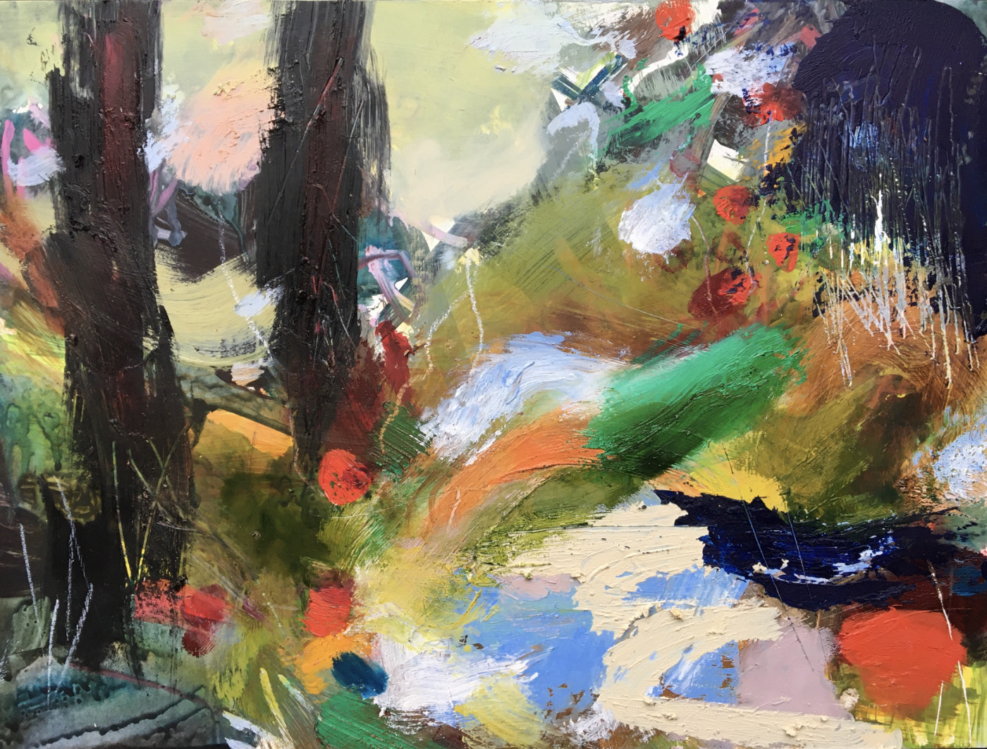 Lesley Birch, A Woodland Place